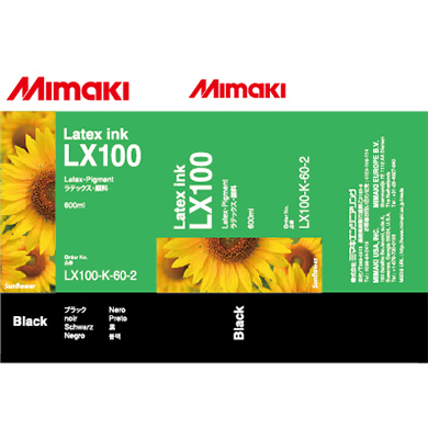 LX100-K-60 LX100 Latex Ink pack Black