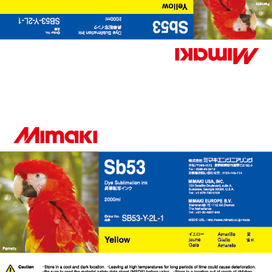 SB53-Y-2L Sb53 Yellow