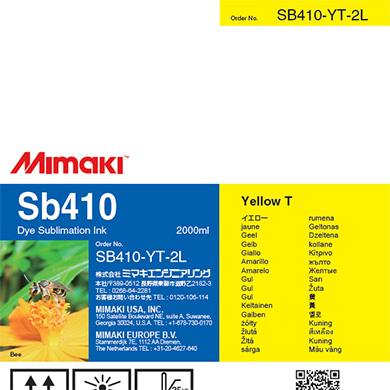 SB410-YT-2L Sb410 Yellow T
