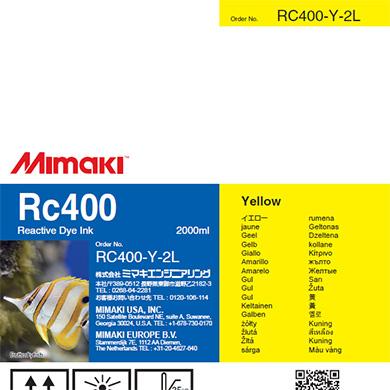 RC400-Y-2L Rc400 Yellow