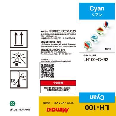 LH100-C-B2 LH-100 Cyan